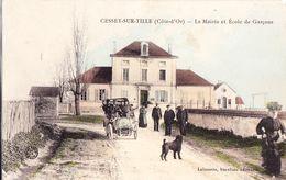 21 : Cessey Sur Tille : La Mairie Et Ecole Des Garçons - France