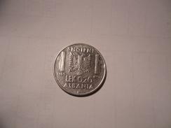 ALBANIA-VITTORIO EMANUELE III - 0,20 LEK 1939 - Albanie