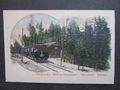 AK ALDRANS Inssbrucker Mittelgebirgsbahn Bahn Zug Ca.1900 /// D*29521 - Austria