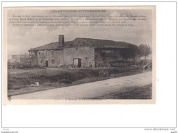 07.-Auberge De Peyrebelhe (Peyrebelle) Cevennes Pittoresques (borne Kilometrique, Vélo) - Autres Communes