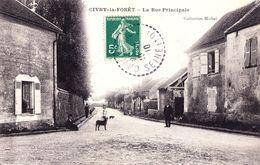 78 : Civry La Foret : Rue Principale - France