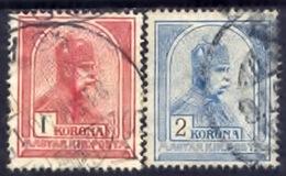 Hongarije 1900, Magyar, Hungary, Hongrie, Ungarn, Franz Joseph, SG 133, 134, YT 103, 104, MI 124, 125 - Hongarije