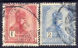 Hongarije 1900, Magyar, Hungary, Hongrie, Ungarn, Franz Joseph, SG 133, 134, YT 103, 104, MI 124, 125 - Gebruikt
