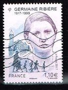 Frankreich 2017, Michel# 6699 O Germaine Ribière (1917-1999) - Gebraucht