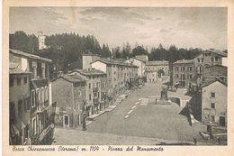 BOSCO CHIESANUOVA (VERONA)  PIAZZA DEL MONUMENTO  - 1942 - Verona