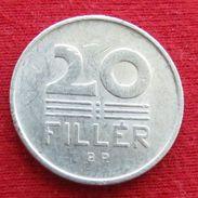 Hungary 20 Filler 1965 KM# 550 Hongrie Hungria Ungarn Ungheria Magyar - Hongarije