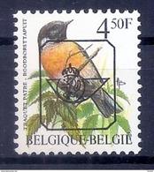 BELGIE * Buzin  PRE * Nr 825 P6 * Postfris Xx * GROENE GOM - 1985-.. Oiseaux (Buzin)