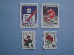 1990 Turquie Yv 2642/5   ** Definitives Scott 2477/80 Michel  2894/7  SG Xx - Nuovi