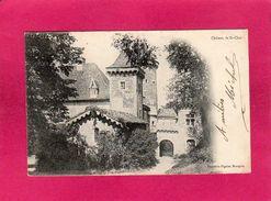 38 Isère, Château De St-Chef, 1905, (Pignier) - Saint-Chef