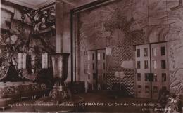 Bl - Cpa Paquebot NORMANDIE - Un Coin Du Grand Salon - Cie Gle Transatlantique - Paquebots