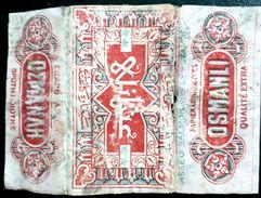 Turkey,Ottoman,PAPER OF CIGARETTES #1917 Osmanli (Istanbul),F.. - Cigarette Holders