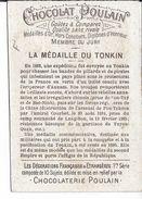 Image Chromo 8 Asie TONKIN Armée Francaise La Médaille Militaire Coloniale Chine  CHOCOLAT POULAIN 41 Blois Loir Et Cher - Poulain