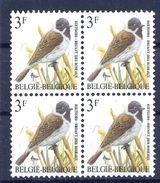 BELGIE * Buzin * Nr 2425 * Postfris Xx * FLUOR  PAPIER - GROENE GOM - 1985-.. Vögel (Buzin)