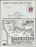 France 1967. Enveloppe Spéciale Officielle, Utah-beach - 2. Weltkrieg