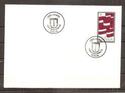 Latvia LETTLAND Lettonia  1994 SMALL CITY - CESIS - 75 YEAR  - BATTLE FOR LATVIAN FREEDOM VARIANT - 4 - Letland