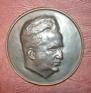 Médaille LOUIS PORTES PRÉSIDENT DE L'ORDRE NATIONAL DES MÉDECINS Par Coeffin - Professionnels / De Société