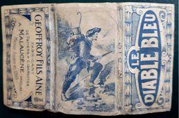 France,Belge,PAPER OF CIGARETTES #1915 Diabl Bleu,F.. - Cigarette Holders