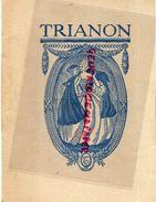33- BORDEAUX- PROGRAMME THEATRE TRIANON SAISON 1932-33-A.CAZAUBON LE BOUSCAT-UNIVERSAL HOTEL-DARCY-CASTERA-LOUIS LEGER - Programmi