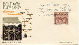 SPAIN  -   1970 Sightseeing   FDC2407 - FDC