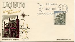 SPAIN  -   1970 Sightseeing   FDC2408 - FDC