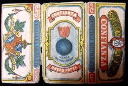 Italy !!,PAPER OF CIGARETTES #1916 Confianza ,F.. - Cigarette Holders