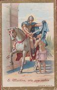 Heiligenprentje Image Pieuse Santini Heilige Martinus Tours Maarten Martin Martine Holy Card Szombathely Saint Santa St. - Imágenes Religiosas