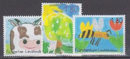 LIECHTENSTEIN           2003          N .   1274 / 1276        COTE    10 . 00  Euros - Liechtenstein