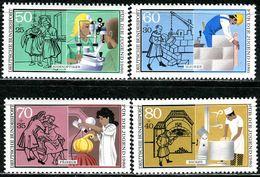 BRD - Mi 1274 / 1277 - ** Postfrisch (K) - Handwerksberufe, Jugend 86 - Unused Stamps