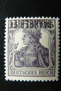 Allemagne - Sarre - Yvert N°36a ** (MNH) - Variété - Abart - Surcharge Renversée - Signé Böcking - Unused Stamps