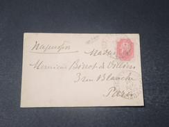 RUSSIE - Enveloppe Pour La France En 1895 - L 10670 - 1857-1916 Empire