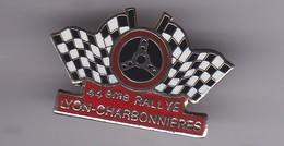PIN'S   44 EME RALLYE LYON CHARBONNIERES - Rallye