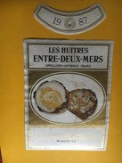 6232 - Les Huitres 1987 Entre-deux-Mers Caves Mövenpick - Bordeaux