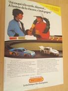 Page De Revue Des Années 60/70 : PUBLICITE  CIRCUIT ELECTRIQUE VOITURES MINIATURES MATCHBOX  Format PAGE A4 - Circuits Automobiles