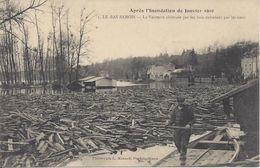 CPA   France 77 Seine Et Marne  Samois-sur-Seine  Le Bas Samois Après L'Inondation De Janvier 1910 - Samois