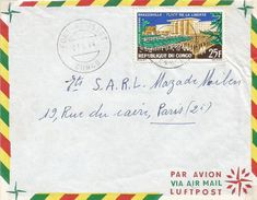 Congo 1964 Fort Rousset Liberty Place Cover - Congo - Brazzaville