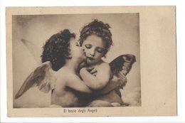 18832 -  Il Bacio Degli Angeli Le Baiser Ange à Fille Papillon - Fantaisies