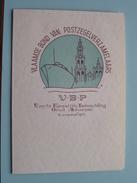 "VLAAMSE Bond Van POSTZEGELVERZAMELAARS "" V-B-P "" Eerste Kompetitie Tentoonstelling Groot Antwerpen 1971 - N° 0065 ! - Belgio"