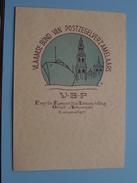 """VLAAMSE Bond Van POSTZEGELVERZAMELAARS """" V-B-P """" Eerste Kompetitie Tentoonstelling Groot Antwerpen 1971 - N° 0277 ! - Belgique"""