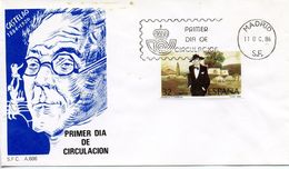 SPAIN  -   1986 The 100th Anniversary Of The Birth Of Alfonso R. Castelao, 1886-1950   FDC2413 - FDC