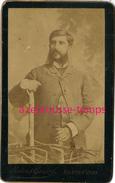 CDV De Roumanie-homme Avec Rouflaquettes-photo Maier Et Gerstl à Bucarest Et Sanaia - Old (before 1900)