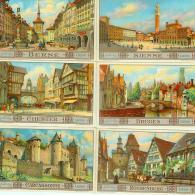 LIEBIG : S_1311 - 'Villes Modernes Ayant Conservé Visag - Group Games, Parlour Games
