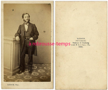 CDV Homme élégant, Mode Second Empire--photo Lebour à Paris - Photographs
