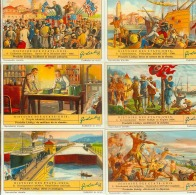 LIEBIG : S_1375 : 'Histoire Des Etats Unis - Jeux De Société