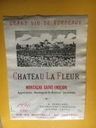 6258 - Château La Fleur 1990 Montagne Saint Emilion - Bordeaux