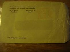 1975 Enveloppe SERVICES ECONOMIQUES DOMESTIQUES/STUDIEDIENST ECONOMIEHUISHOUDING Rue Belliard Belliardstraat Bruxelles 4 - Internationale Instellingen