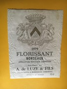 6260 - Florissant 1979 état Moyen - Bordeaux
