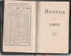 PETIT AGENDA 3E TRIMESTRE 1903 -                    TDA101 - Calendriers