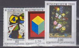 LIECHTENSTEIN           2000          N .   1186 / 1188       COTE    9 . 00  Euros - Neufs
