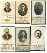 Lot 145 6 Bidprentjes Foto W-VL Stuivekenskerke, Veurne, Oedelem, Torhout, Esen, Schore, Lampernisse, Pervijze - Images Religieuses