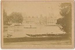 Photo CAB. Chateau De Fontainebleau. Photographie Edition Journot à Paris Ca1890 - Antiche (ante 1900)